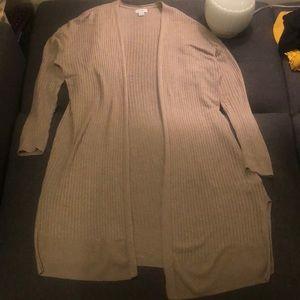 Old Navy Beige/light tan cardigan